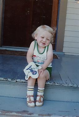 Erik in 1982.