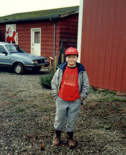 Erik in 1989.
